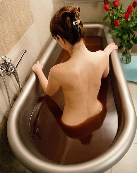 Hot chocolate bath recipe bamboo spa midland ontario for Hot bathroom